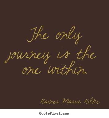 Rilke - Journey