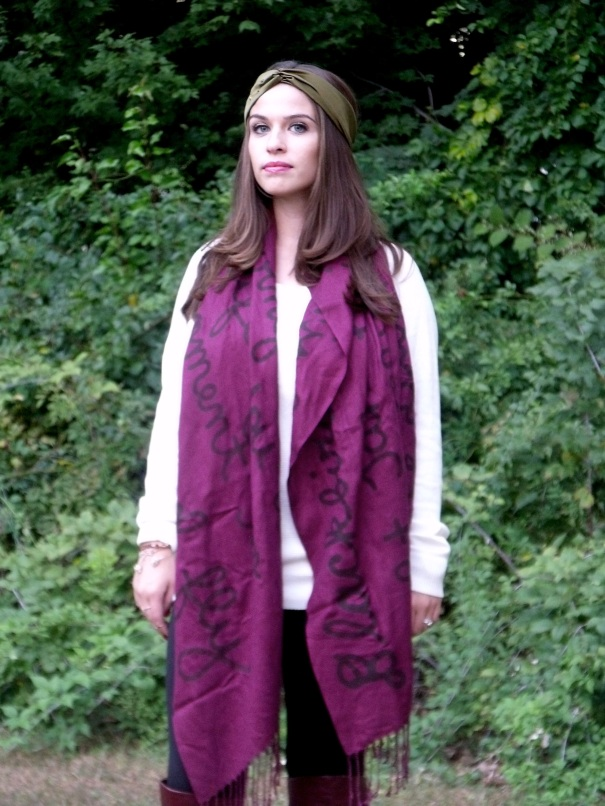 The Blackbird Scarf
