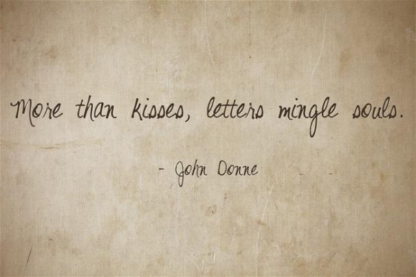 Letters Mingle Souls